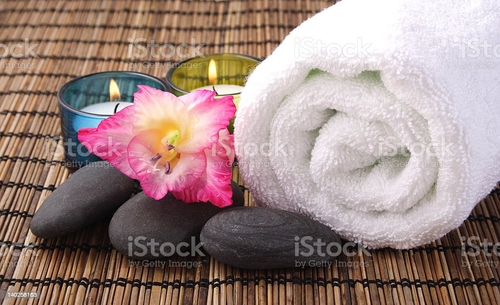 Aromatic Spa royalty-free stock photo