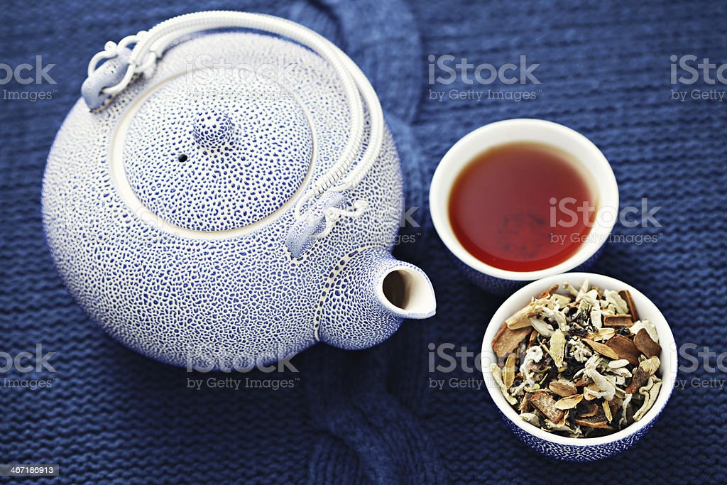 aromatic tea royalty-free stock photo