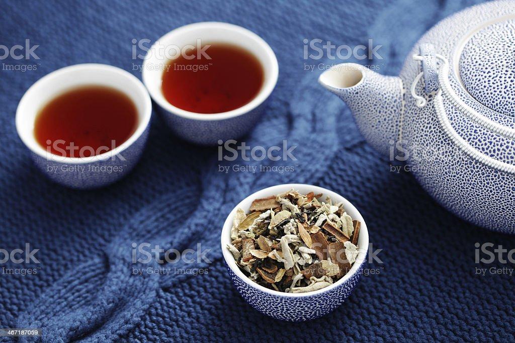 aromatic tea royalty-free stock photo