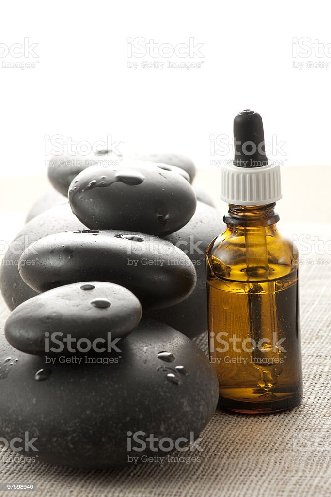Aromtherapy at it's best! stock photo
