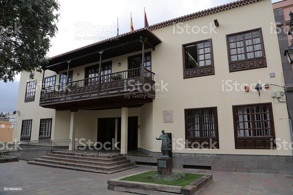 Ayuntamiento de Arona, Santa Cruz de Tenerife stock photo