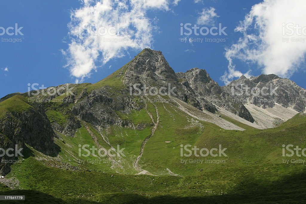 Arosa area in Switzerland royalty-free stock photo