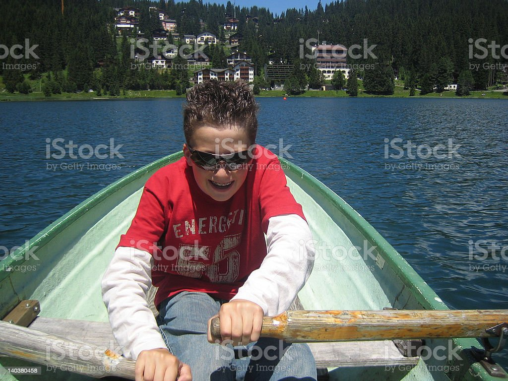 arosa obersee royalty-free stock photo
