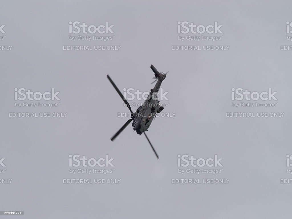 Aérospatiale AS 332 from the swiss air force stock photo
