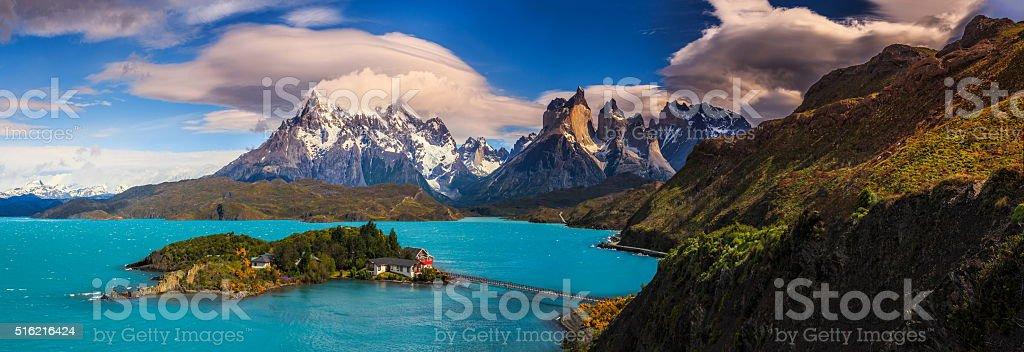 Around Chilean Patagonia stock photo
