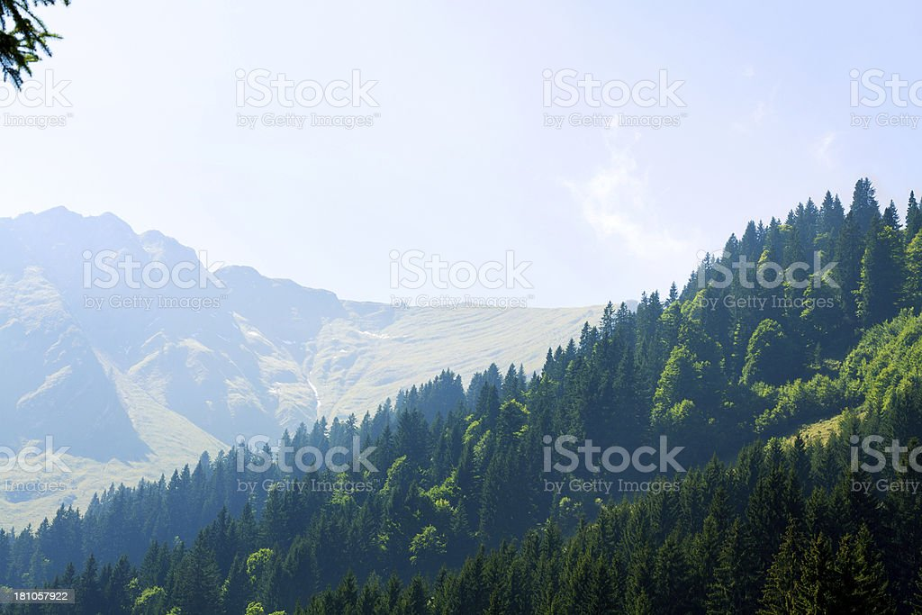 Around Fellhorn royalty-free stock photo