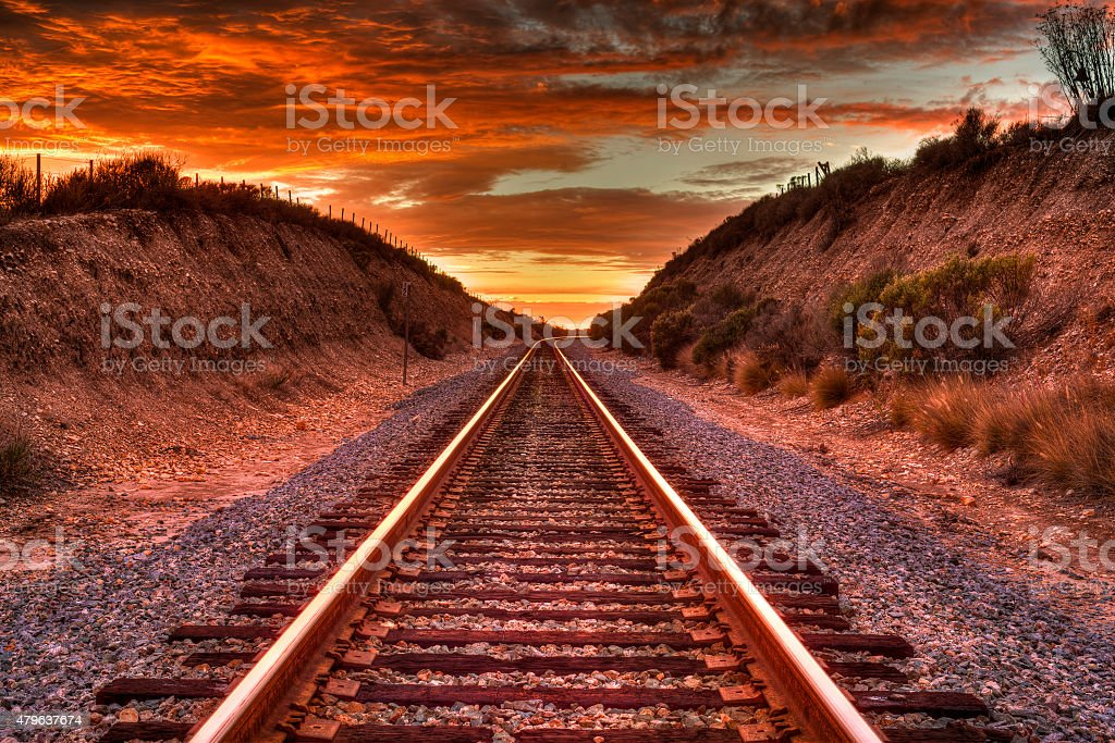 Around the Bend. stock photo