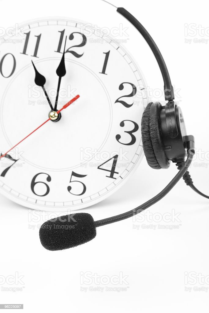 around the clock support royalty-free stock photo