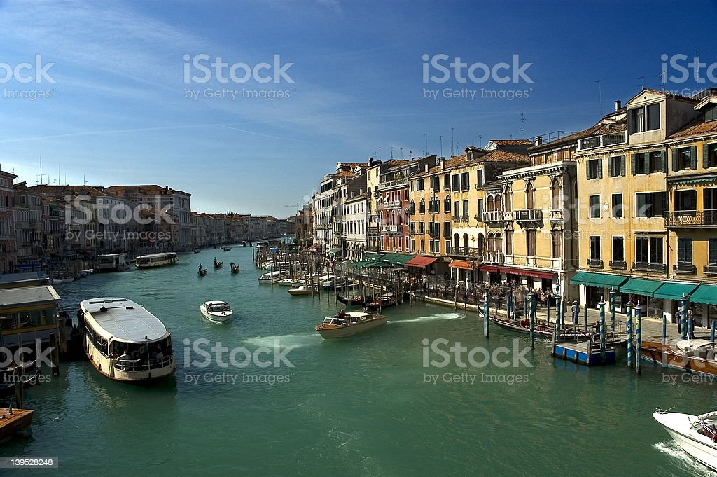 Around the Grand Canal, Venice royalty-free stock photo