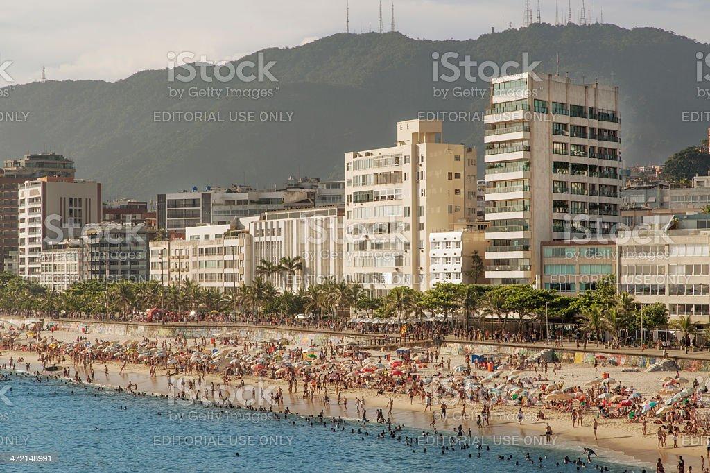 Arpoador Beach royalty-free stock photo