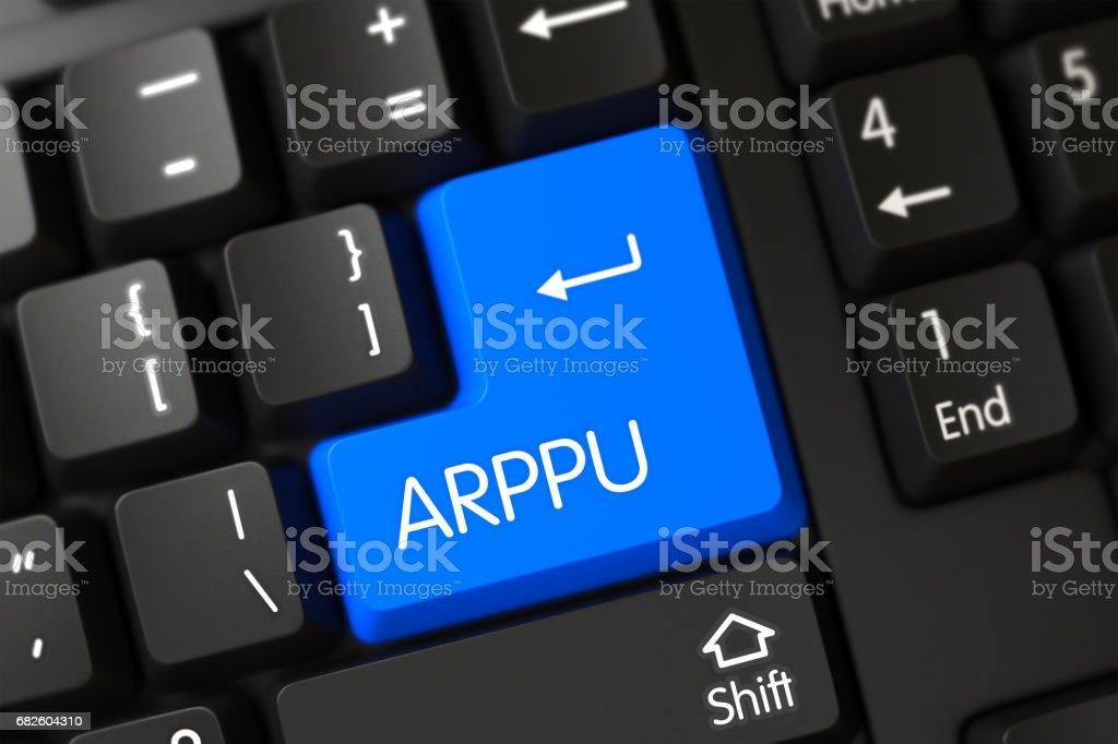 Arppu - Modern Laptop Keypad stock photo