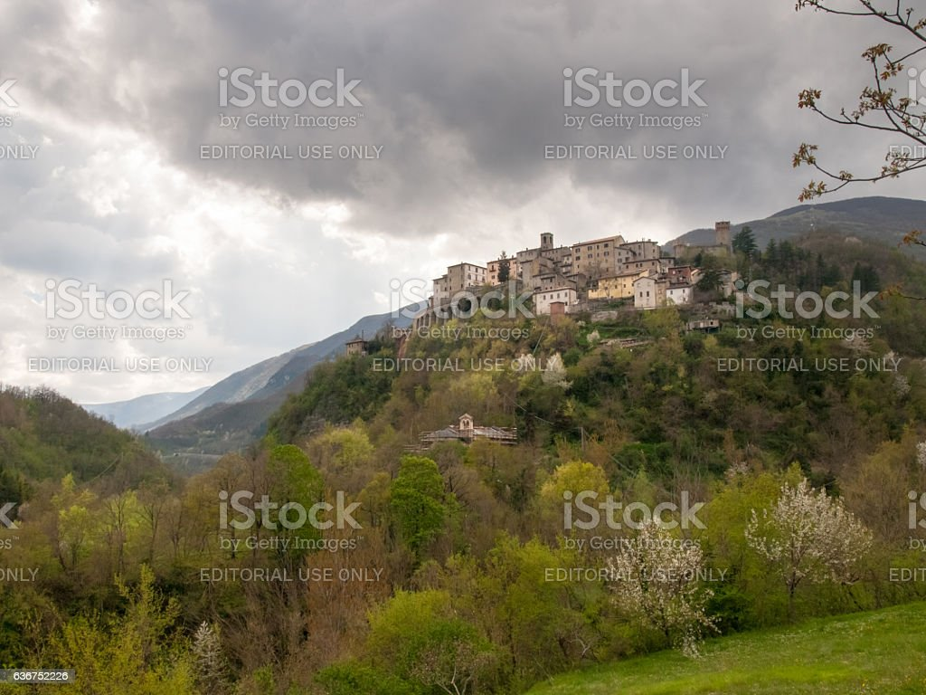 Arquata del Tronto stock photo