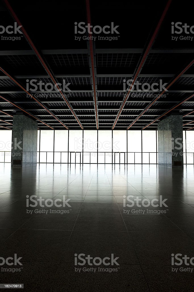 arquitecture interior space royalty-free stock photo