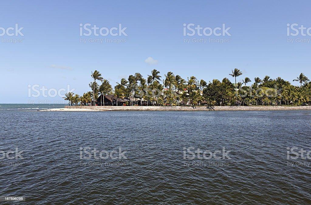 Arraial d'Ajuda Eco Resort in Bahia stock photo