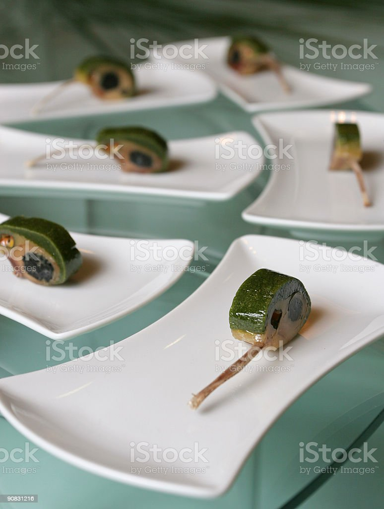 Arranged food royalty-free stock photo