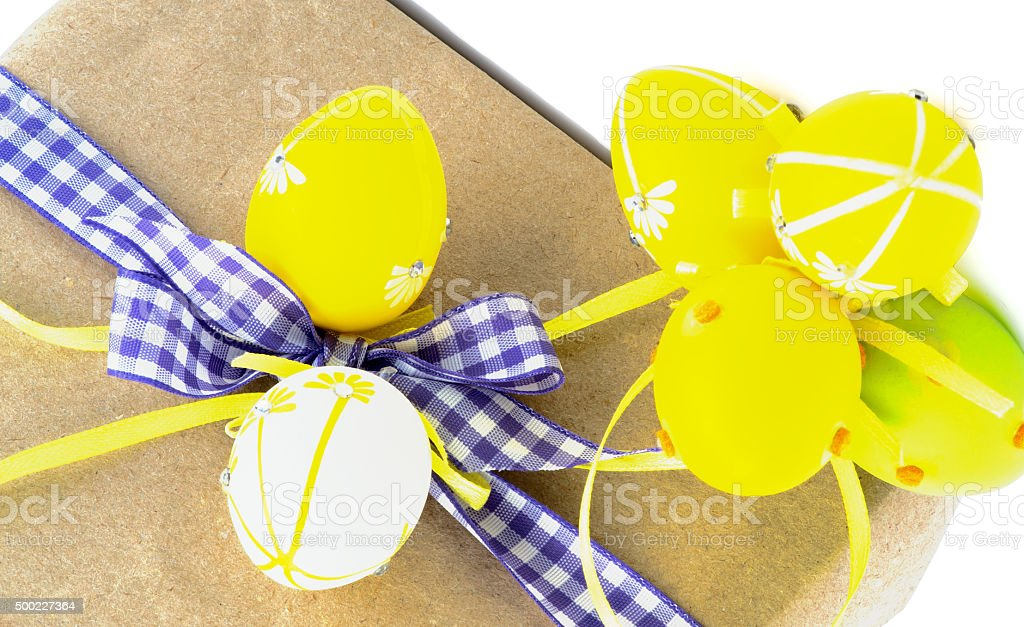 Arrangement of Easter Gifts stock photo