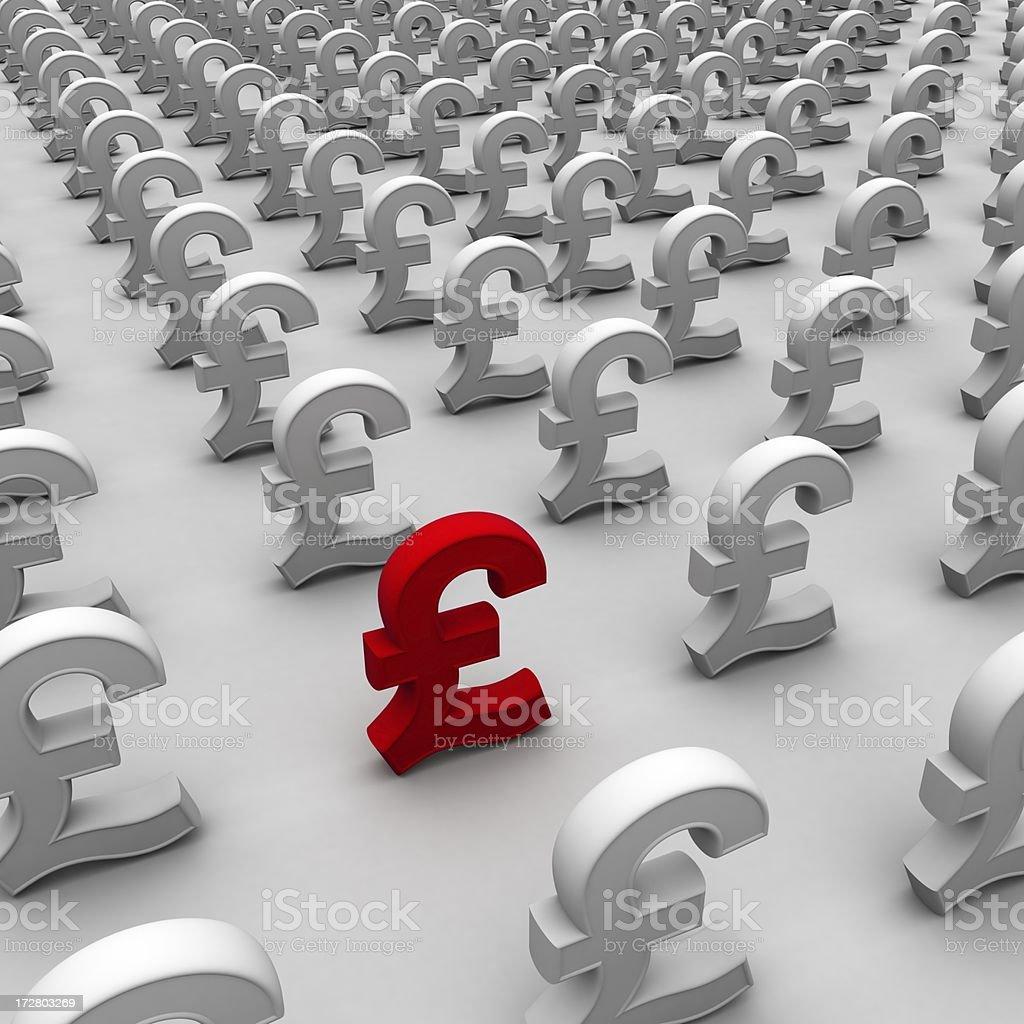 array,pound royalty-free stock photo