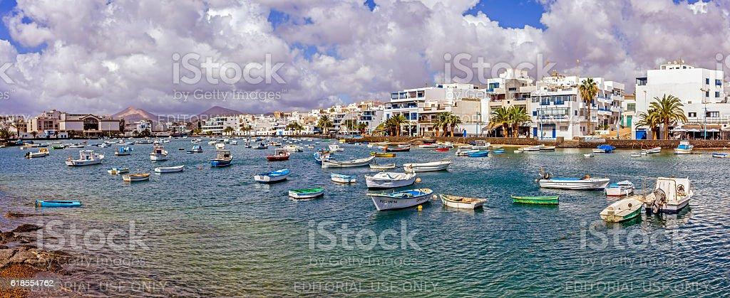 Arrecife, Lanzarote, Spain stock photo
