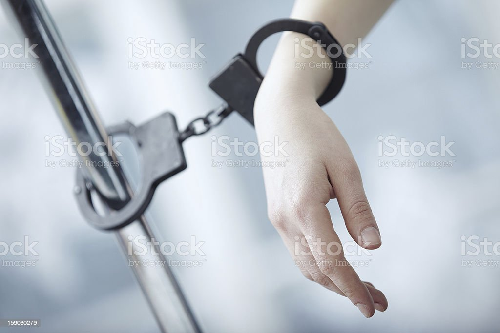 Arrest royalty-free stock photo