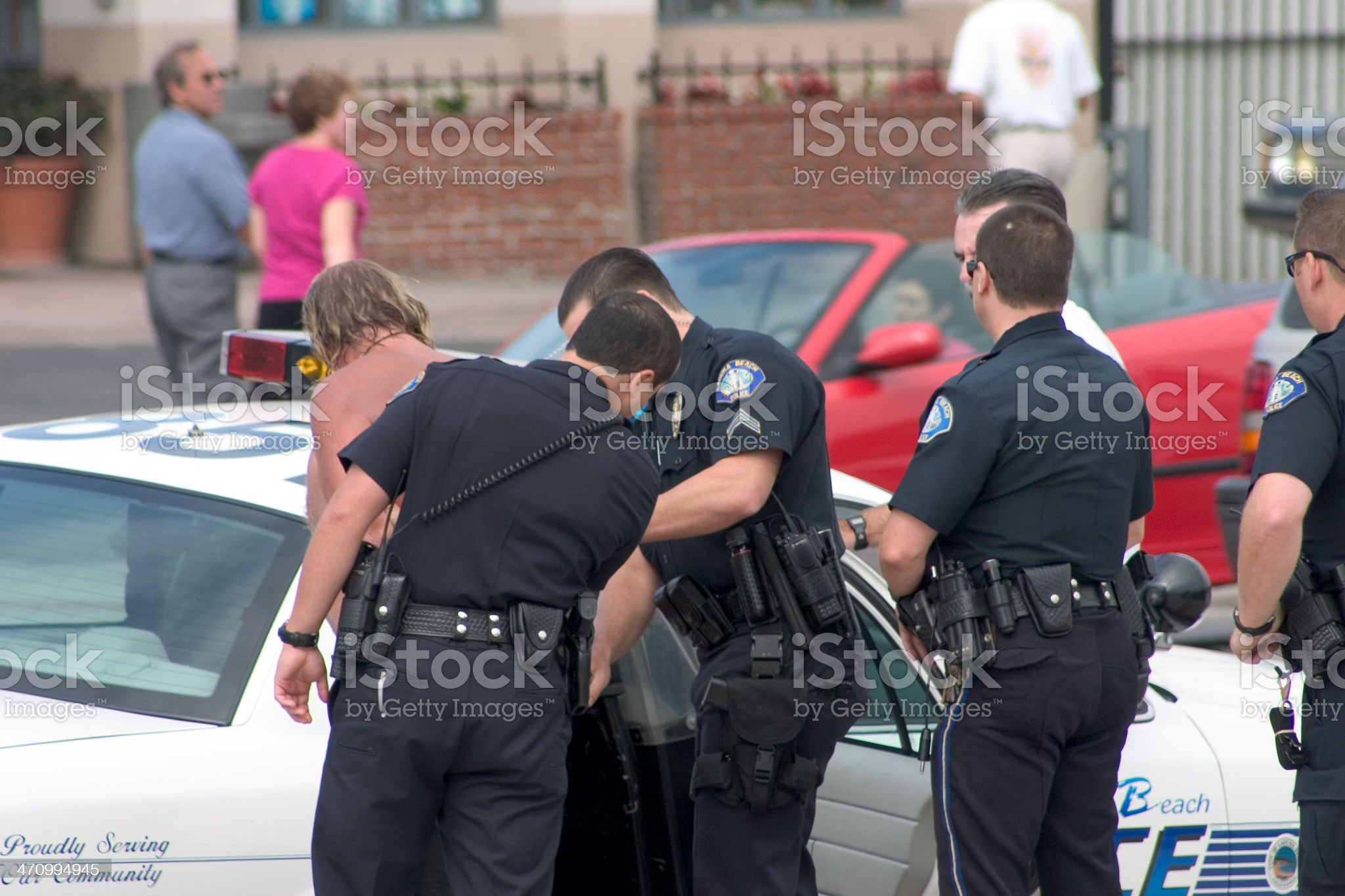 Arrest royalty-free stock photo