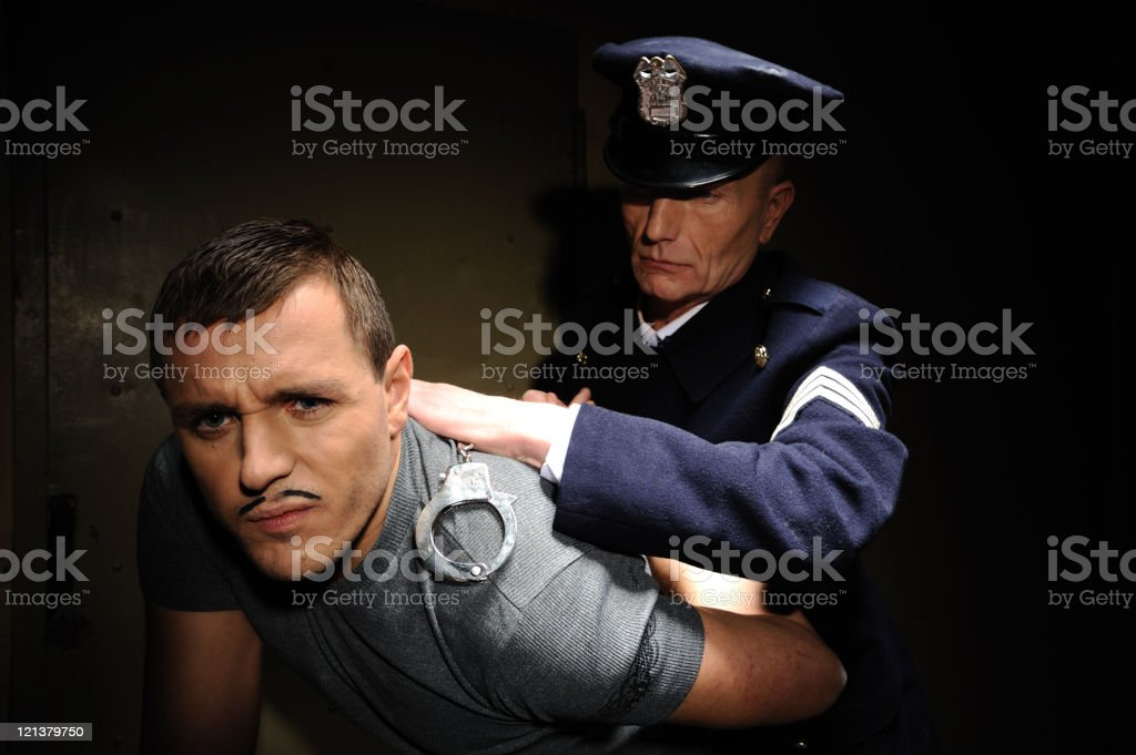 Arresting royalty-free stock photo