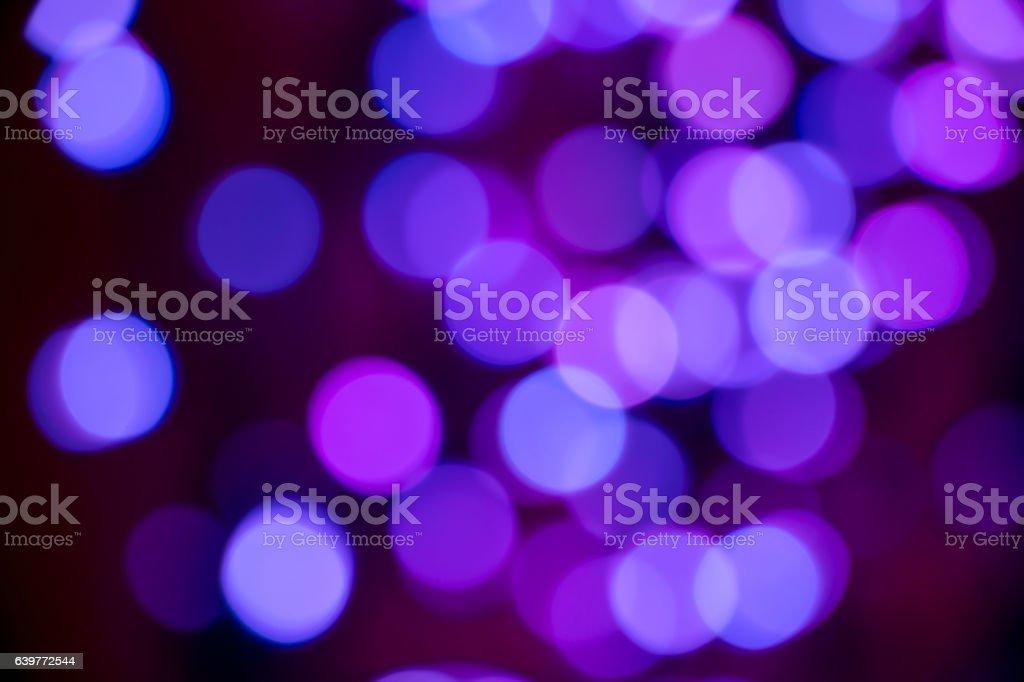 Arrière-plan flou, de lumières bokeh rose et bleu stock photo
