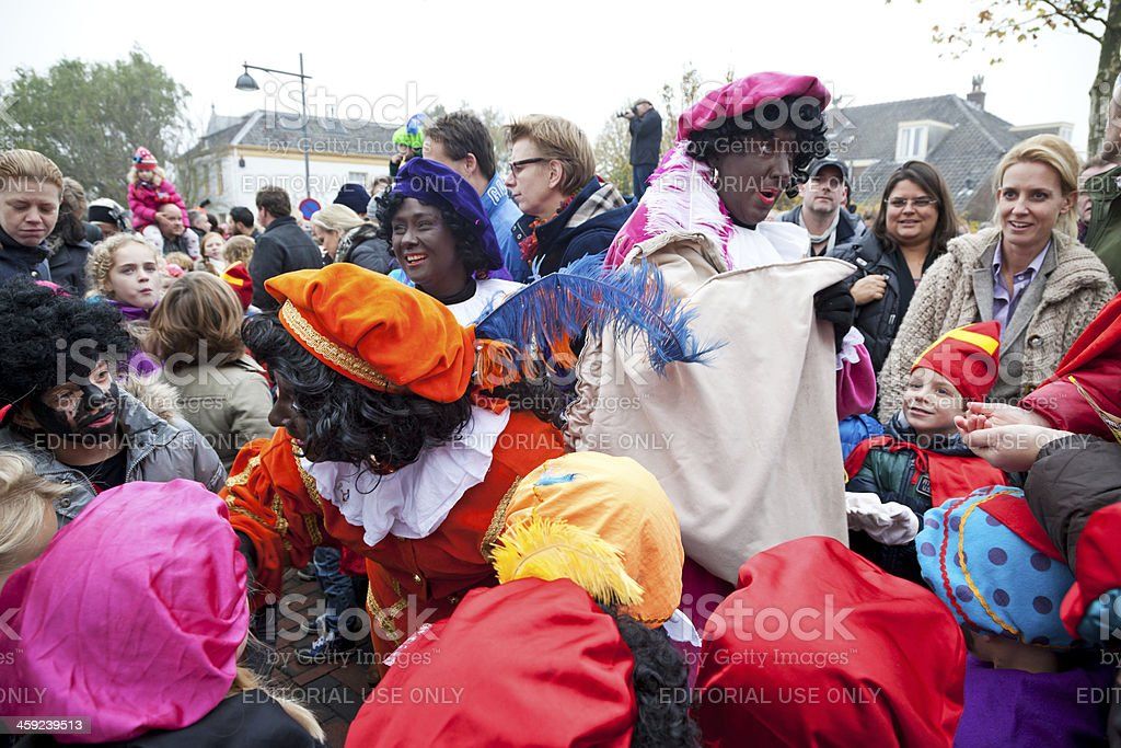 Arrival of Sinterklaas  7 XXXL stock photo