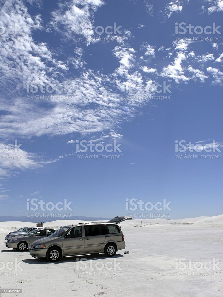Arrived royalty-free stock photo