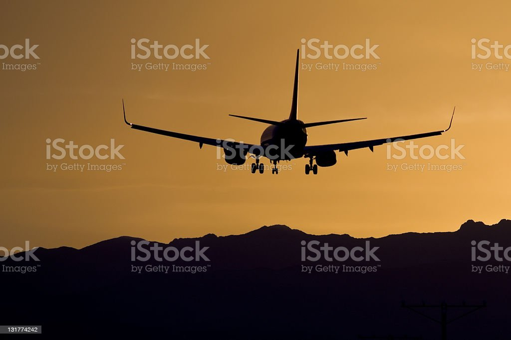 Arriving at Dusk royalty-free stock photo