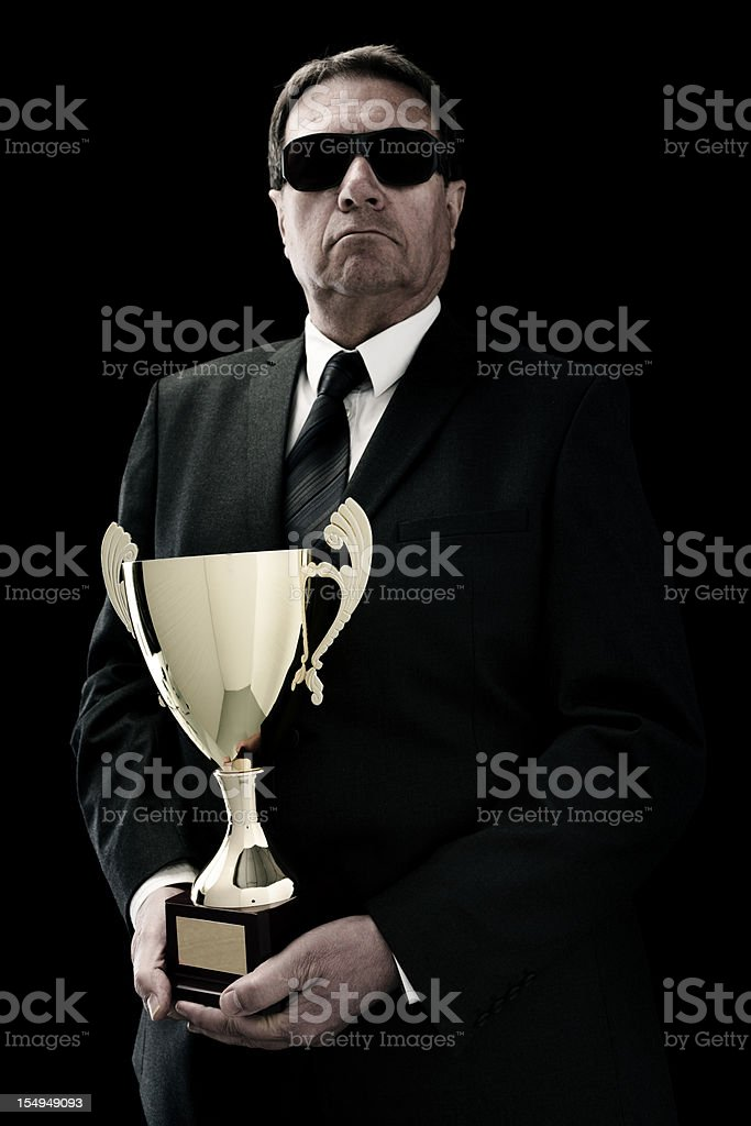 arrogant businessman royalty-free stock photo