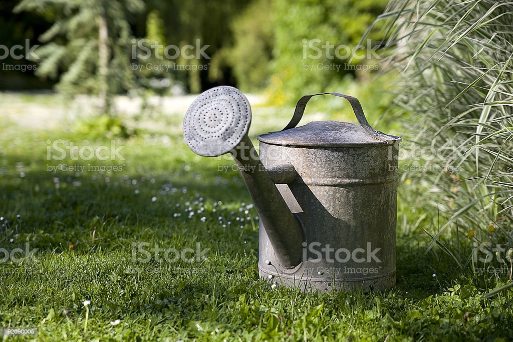 arrosoir,Watering Can royalty-free stock photo