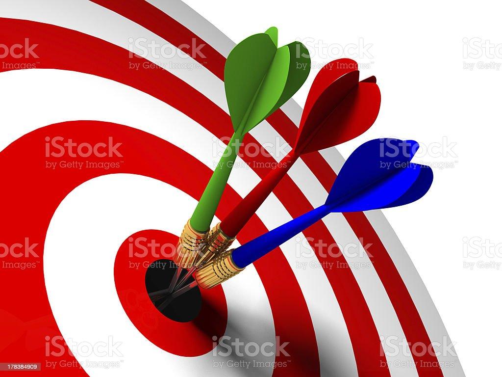 arrow  center royalty-free stock photo