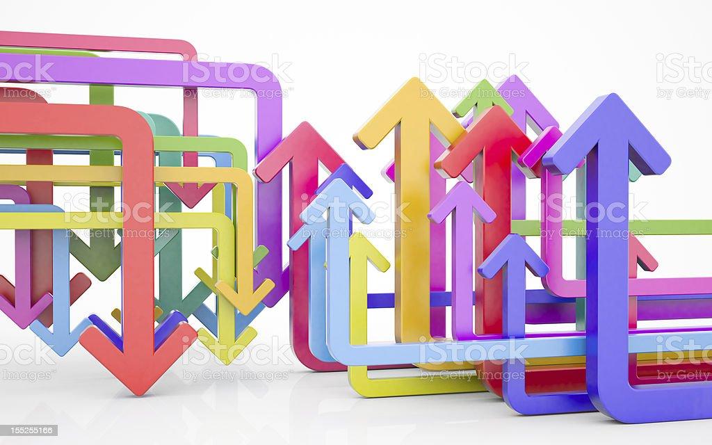 arrow concept royalty-free stock photo