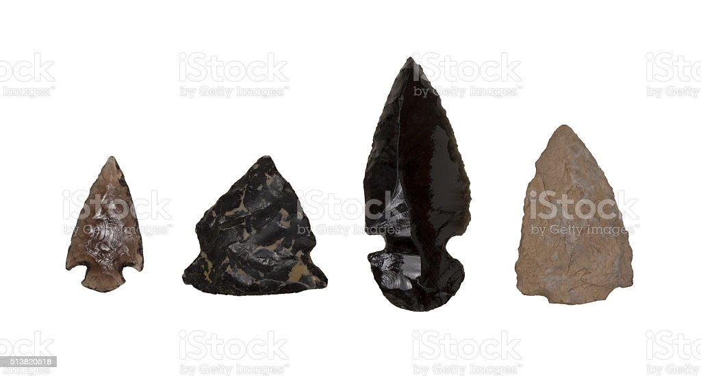 Arrow head stock photo