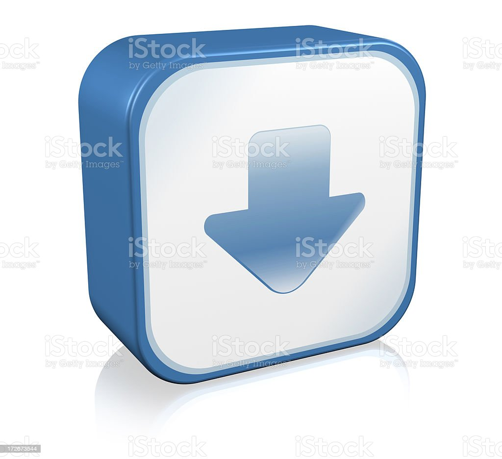 Arrow Icon royalty-free stock photo
