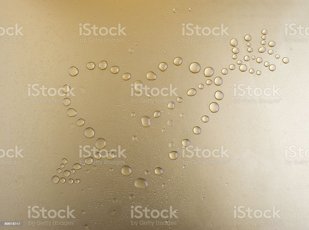 Arrow of cupid royalty-free stock photo