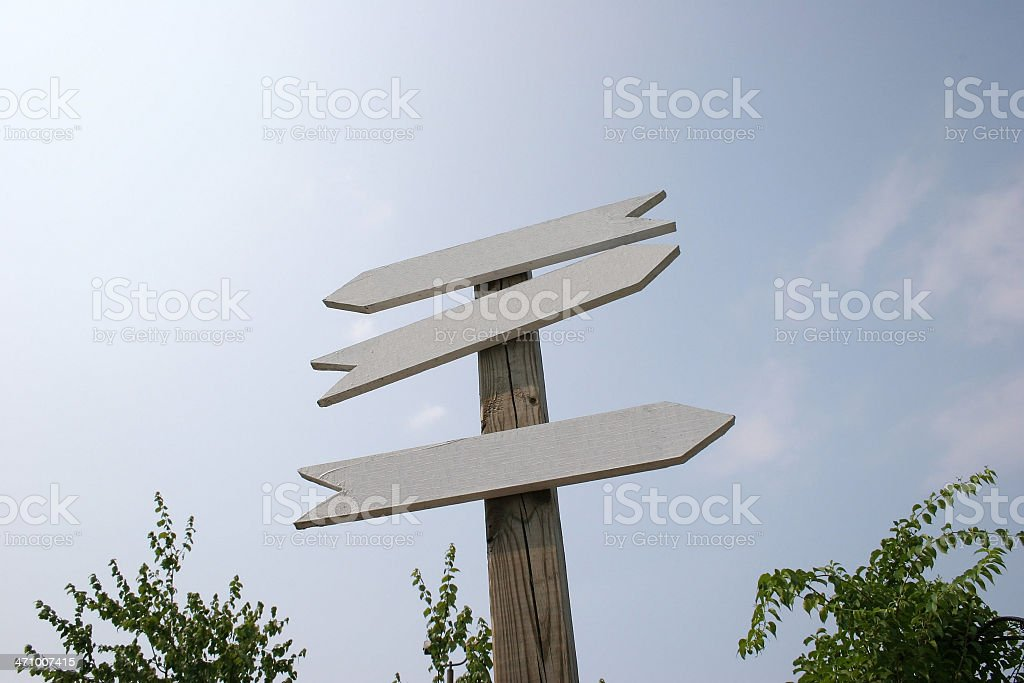 Arrow Sign 1 royalty-free stock photo