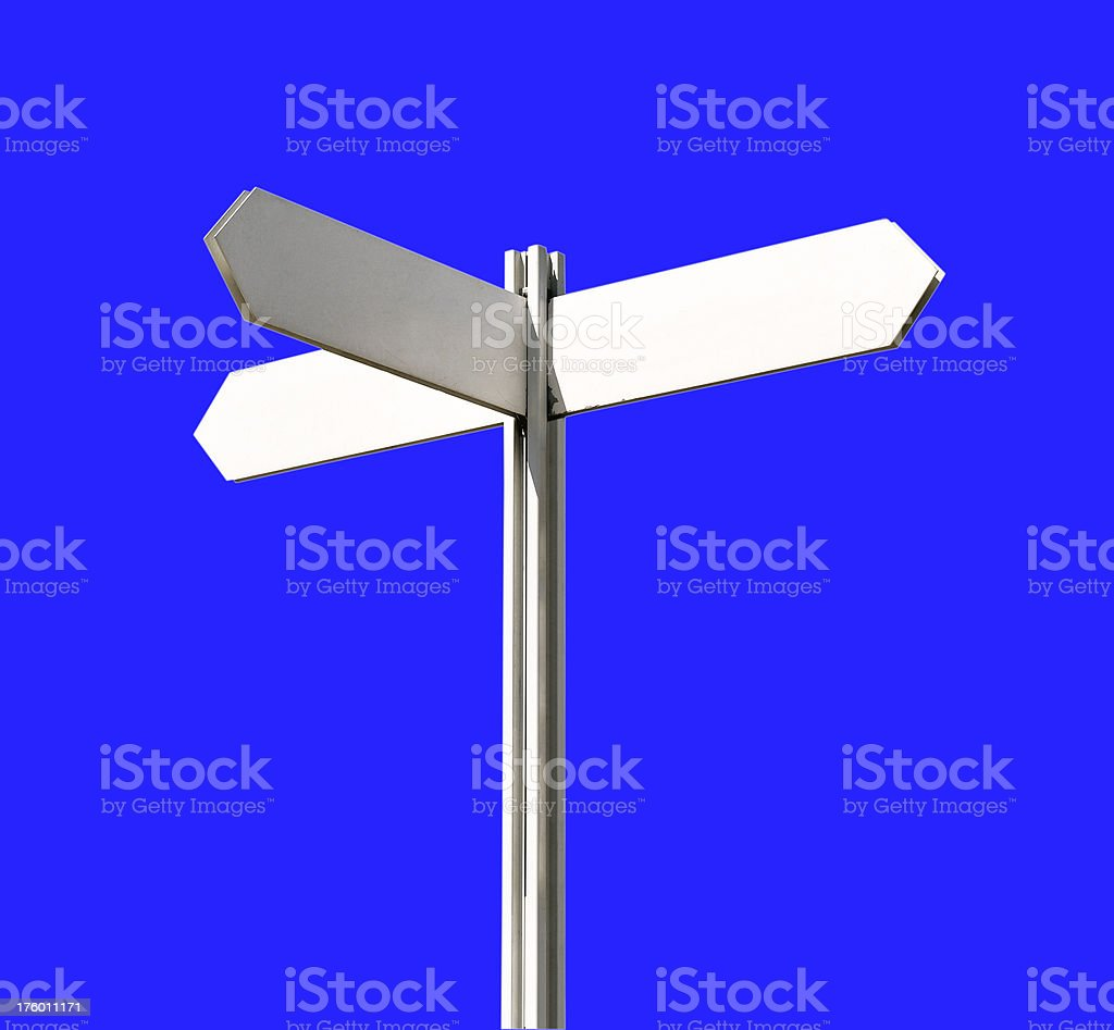 Arrow sign royalty-free stock photo
