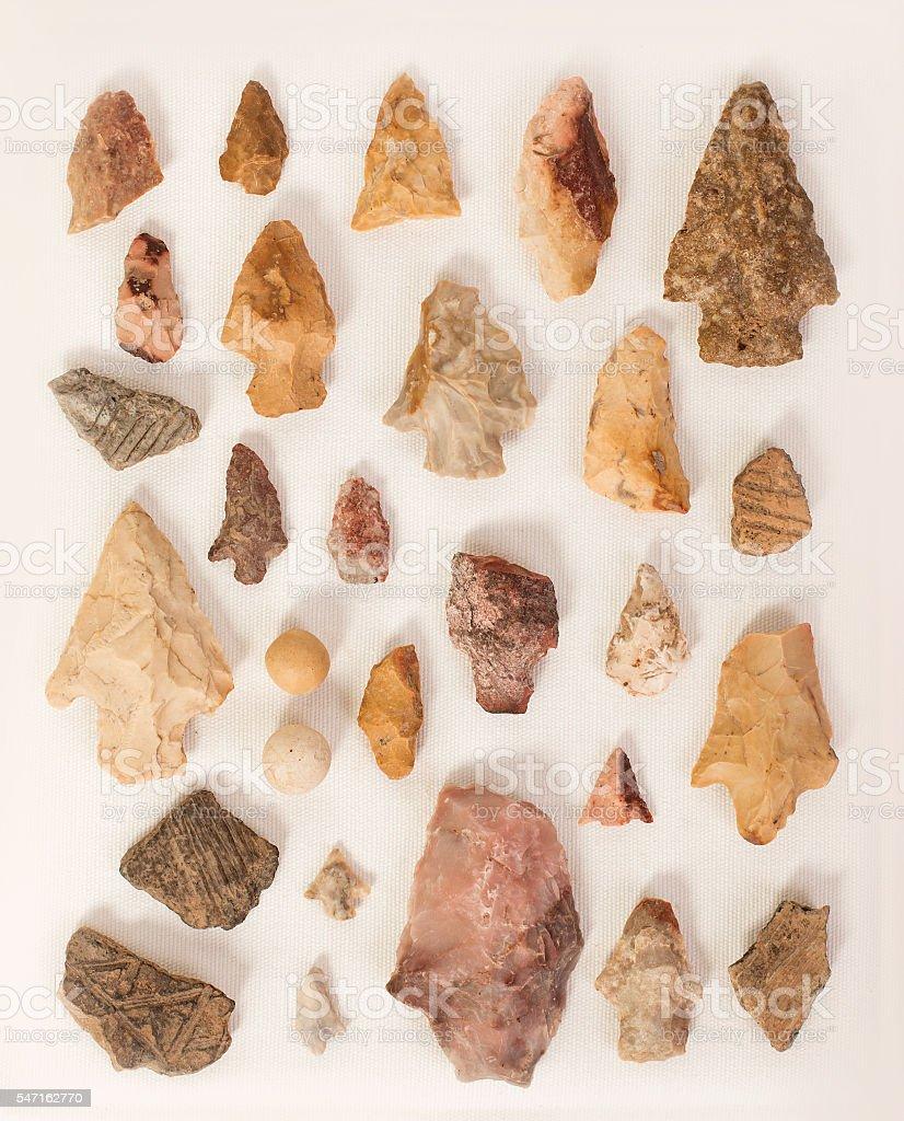 Arrowhead Collection stock photo