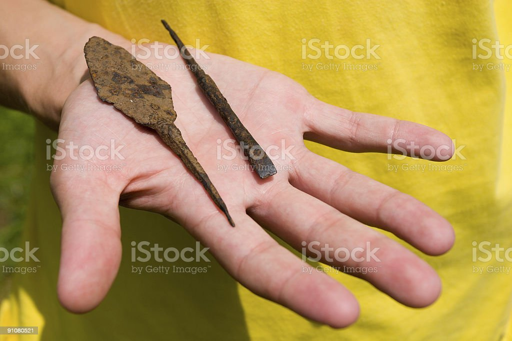 arrowheads royalty-free stock photo