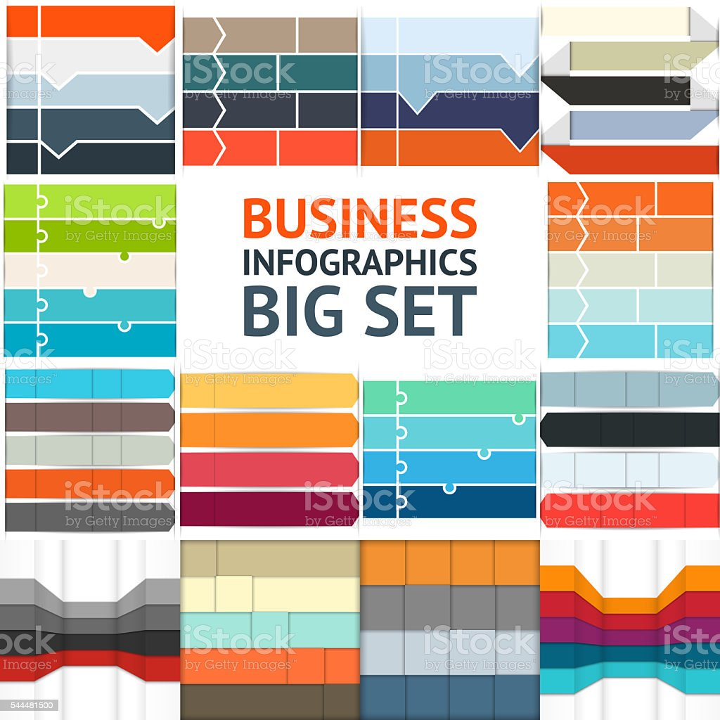 Arrows infographic, up diagram, graph, growth presentation, chart. Business concept stock photo