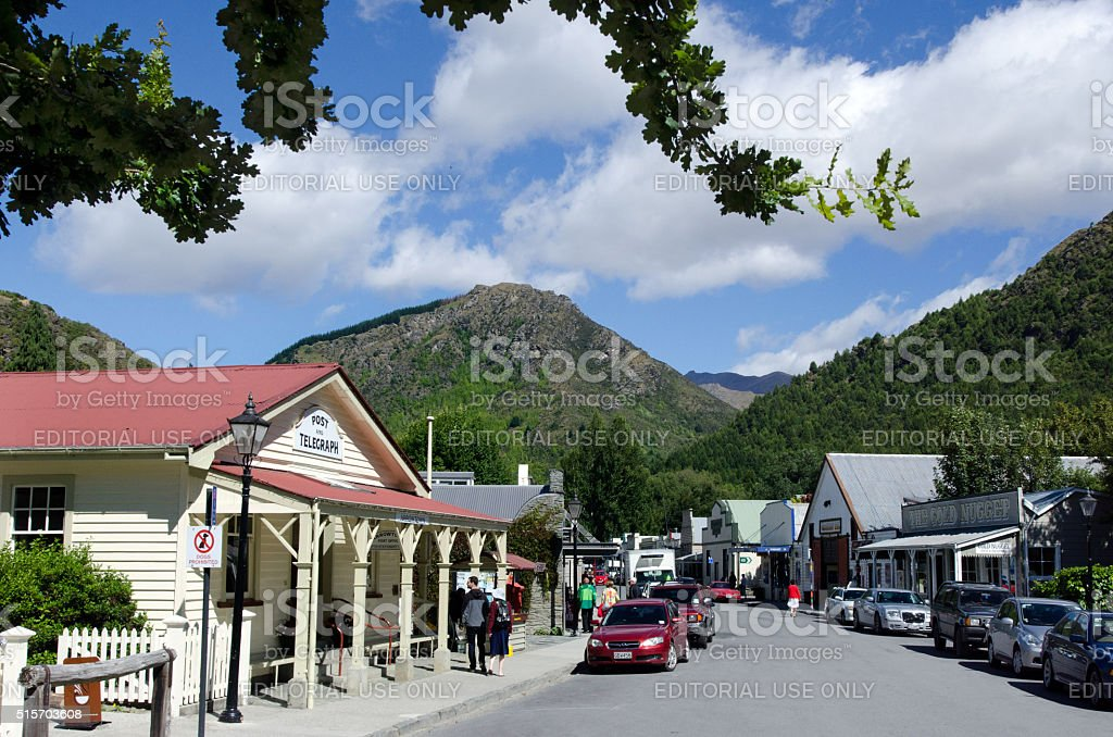 Arrowtown - New Zealand stock photo
