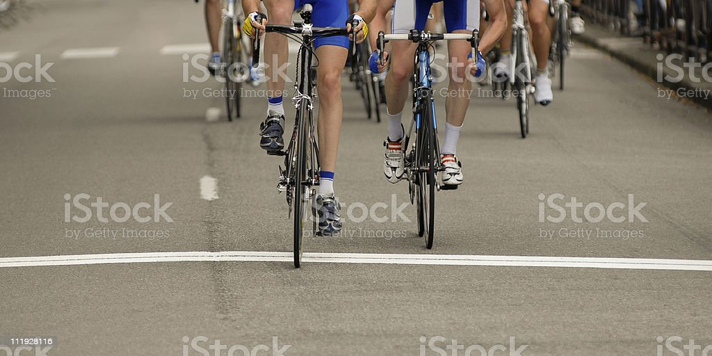 arrrivee au sprint royalty-free stock photo