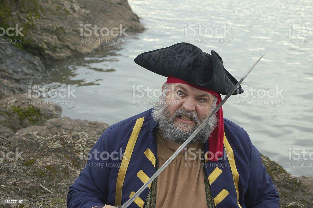 Arrrrg, It's A Pirate! stock photo