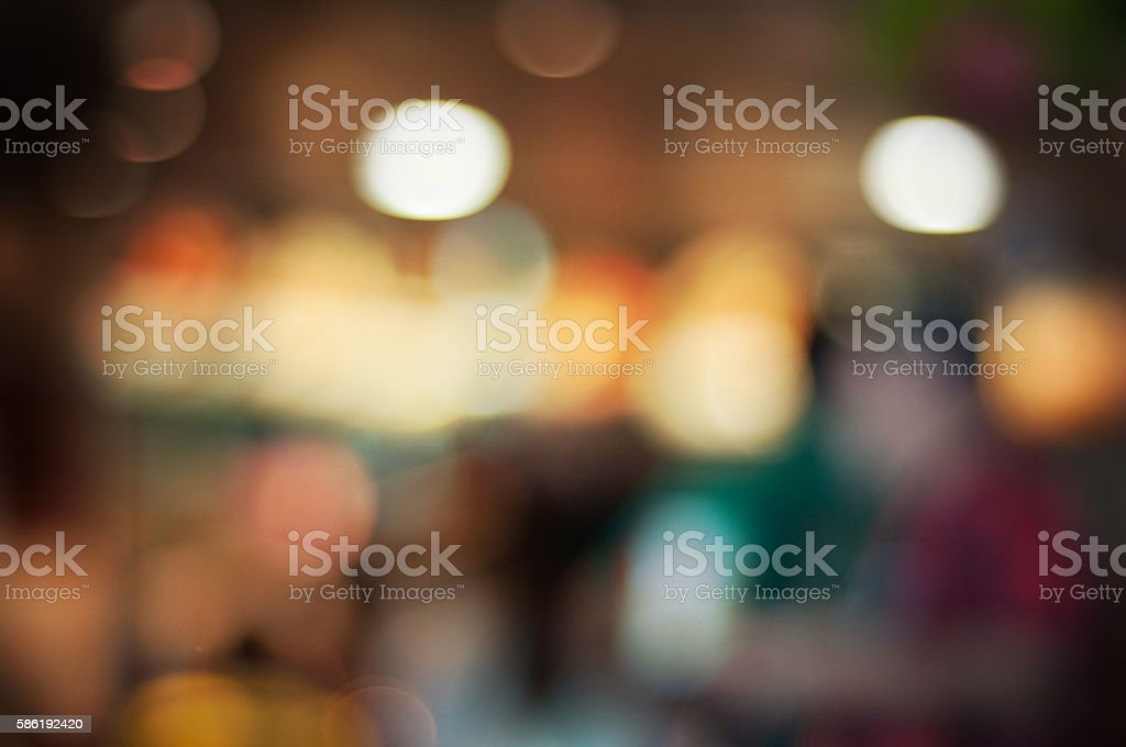 Art bokeh background. Soft defocused lights stock photo