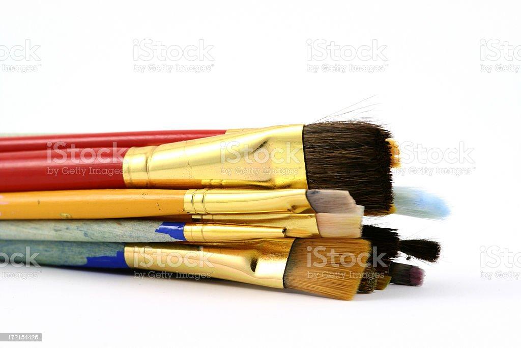 art brushes royalty-free stock photo
