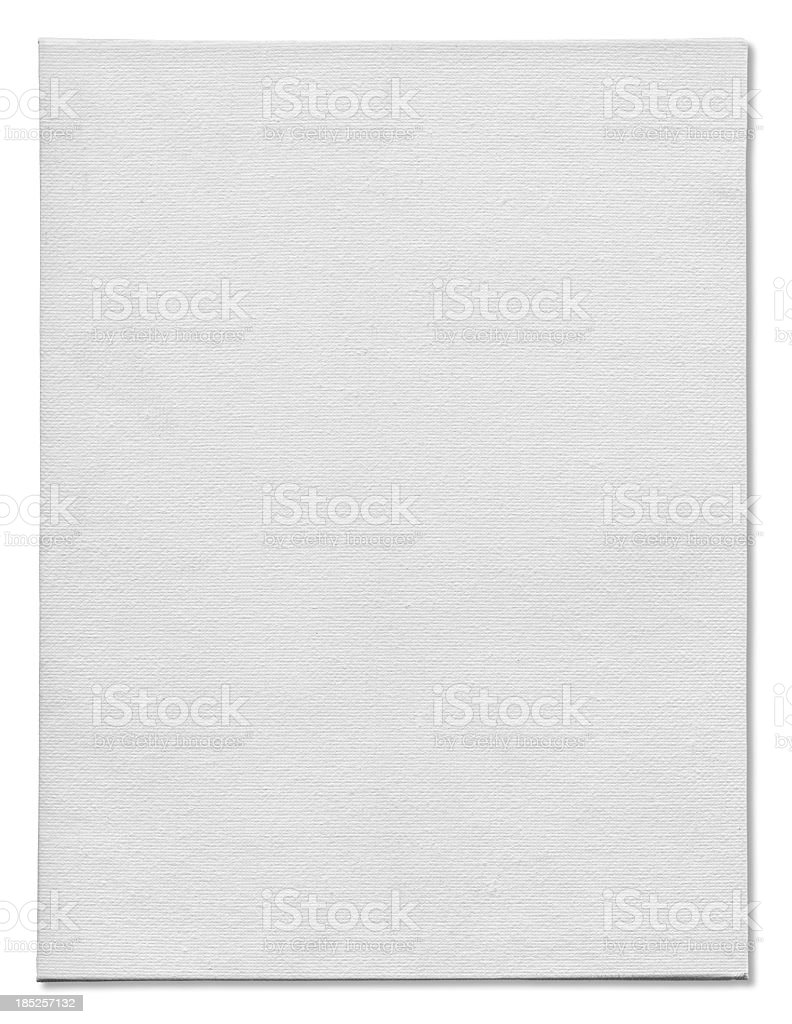 Art Canvas on White stock photo