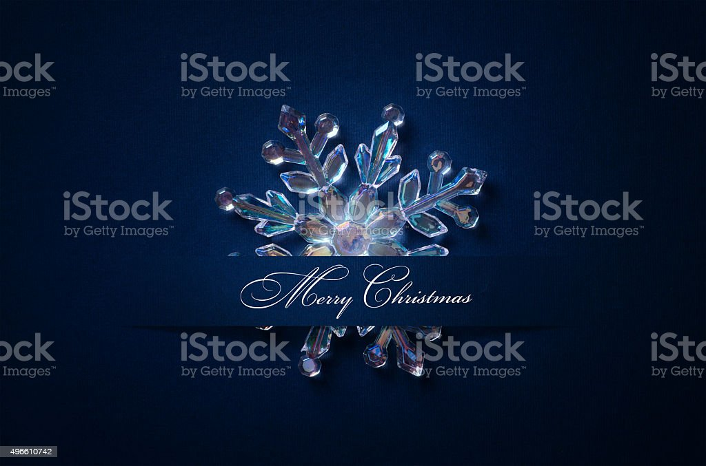 art Christmas background with a silver ornament, christmas stars stock photo