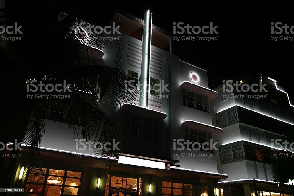Art Deco at Night I royalty-free stock photo