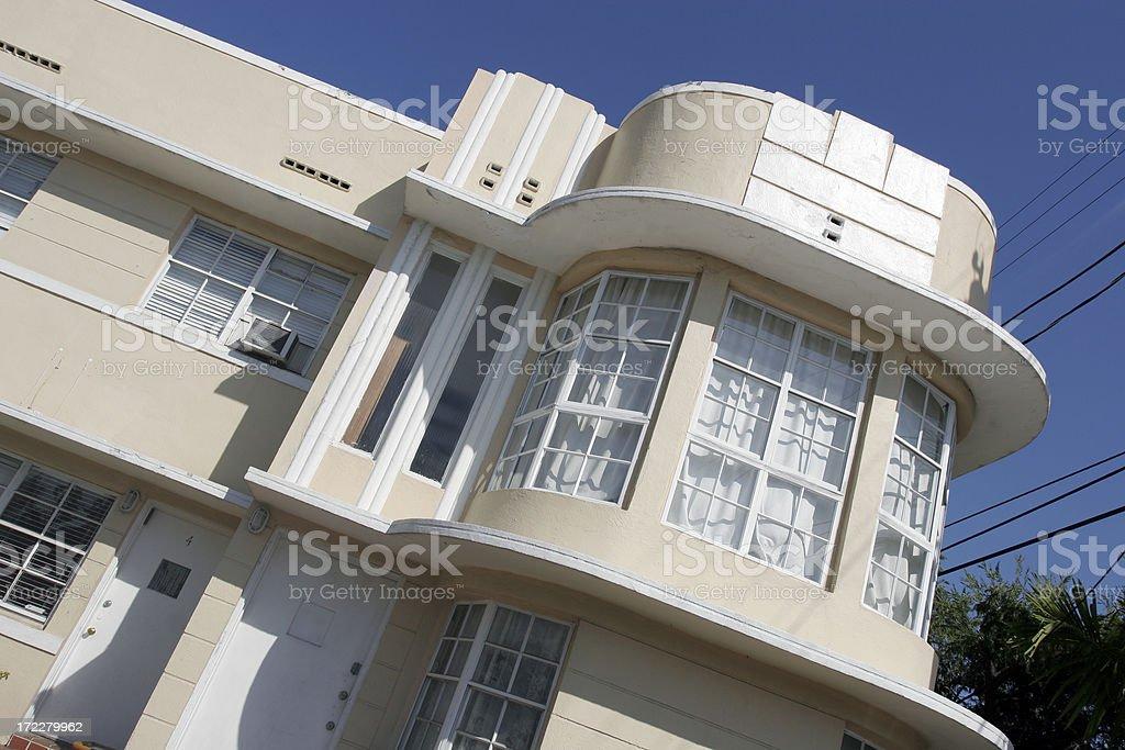 Art Deco Building royalty-free stock photo